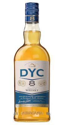 DYC 8 años whisky
